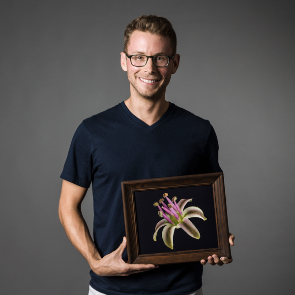 cody howard with ledebouria photo