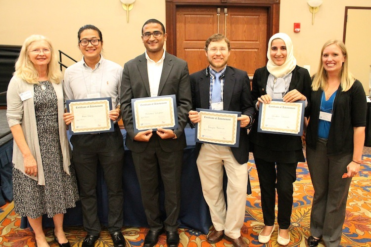 Research day poster winners