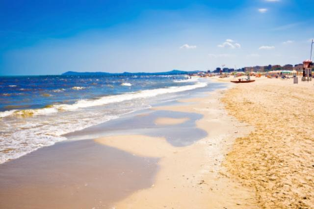 The coast of the northern Adriatic in Rimini, Italy, near one of the study sites that showed that human activities could be altering ecosystems that have been immune to major changes for centuries. Photo: Thinkstock/Getty Images