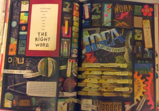 inside pages of the right word book