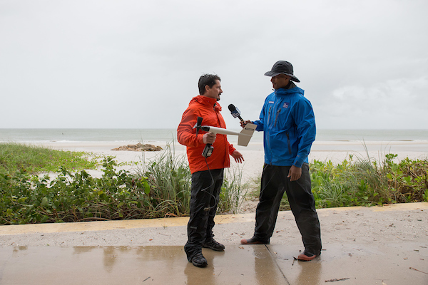 Forrest Masters talks to the Weather Channel