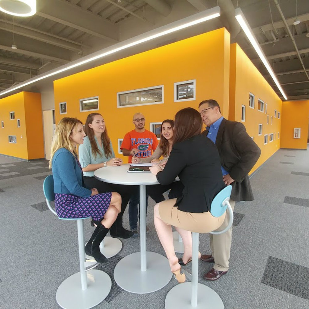 01 Innovation Hub and Warrington College of Business Provide Space