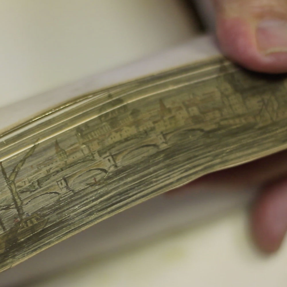 Hidden pictures reveal the lost art of fore-edge painting