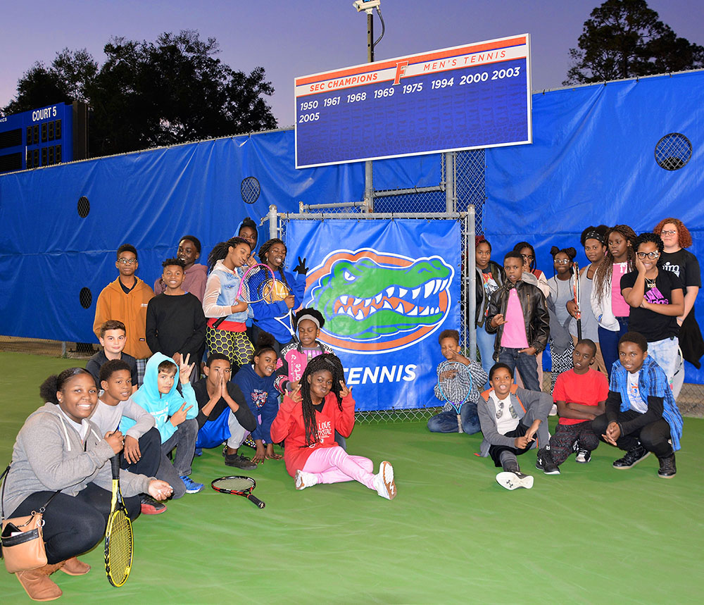 Gators in Motion tennis