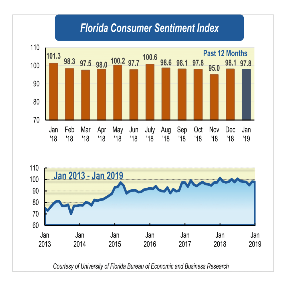 Mix in attitudes causes slight dip in January's consumer sentiment