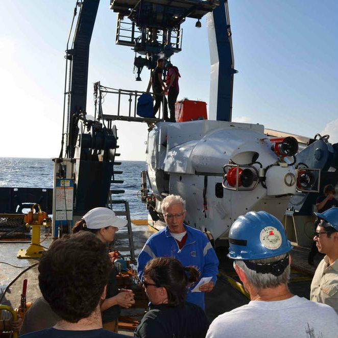 Scientist at work: Exploring submarine volcanoes