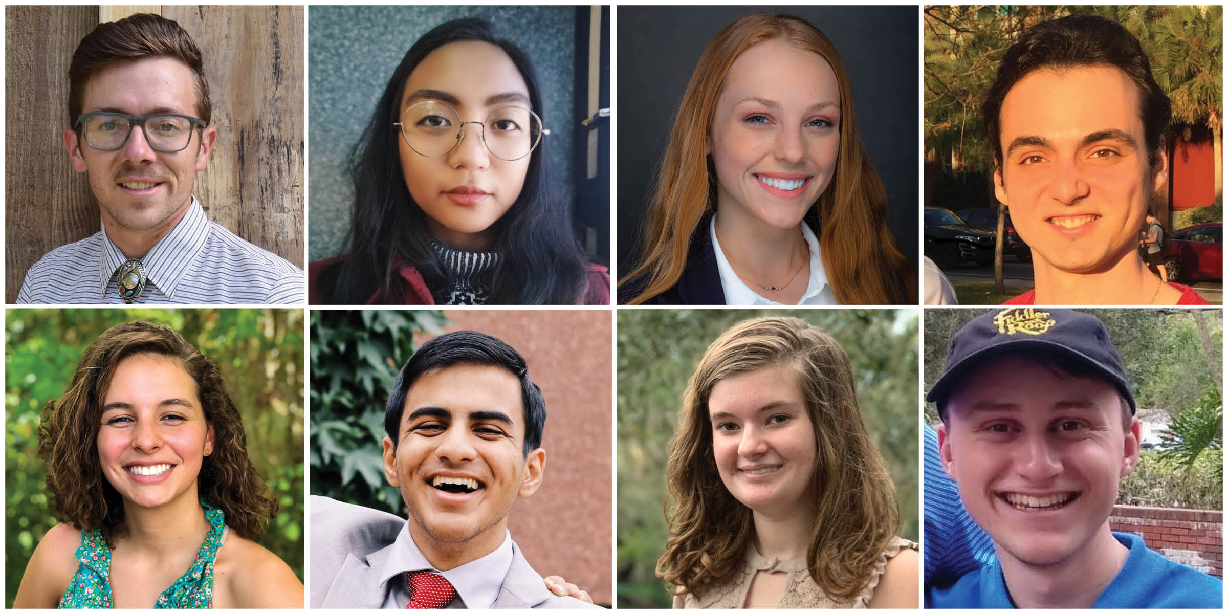 Eight UF students earn prestigious scholarship for overseas learning