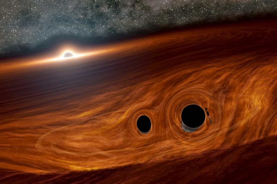 Astronomers discover most powerful black-hole collision still