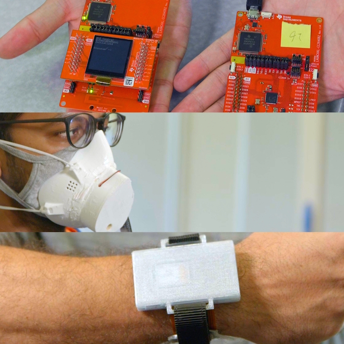 Pivoting to the pandemic, IoT engineers create wearables to stop COVID's spread