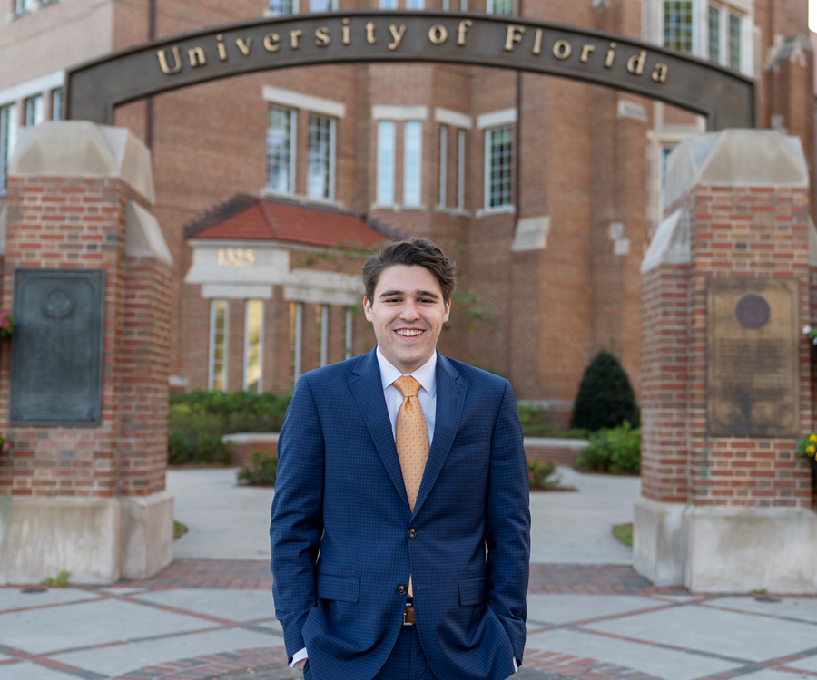 Honors student named UF's second-ever Schwarzman Scholar