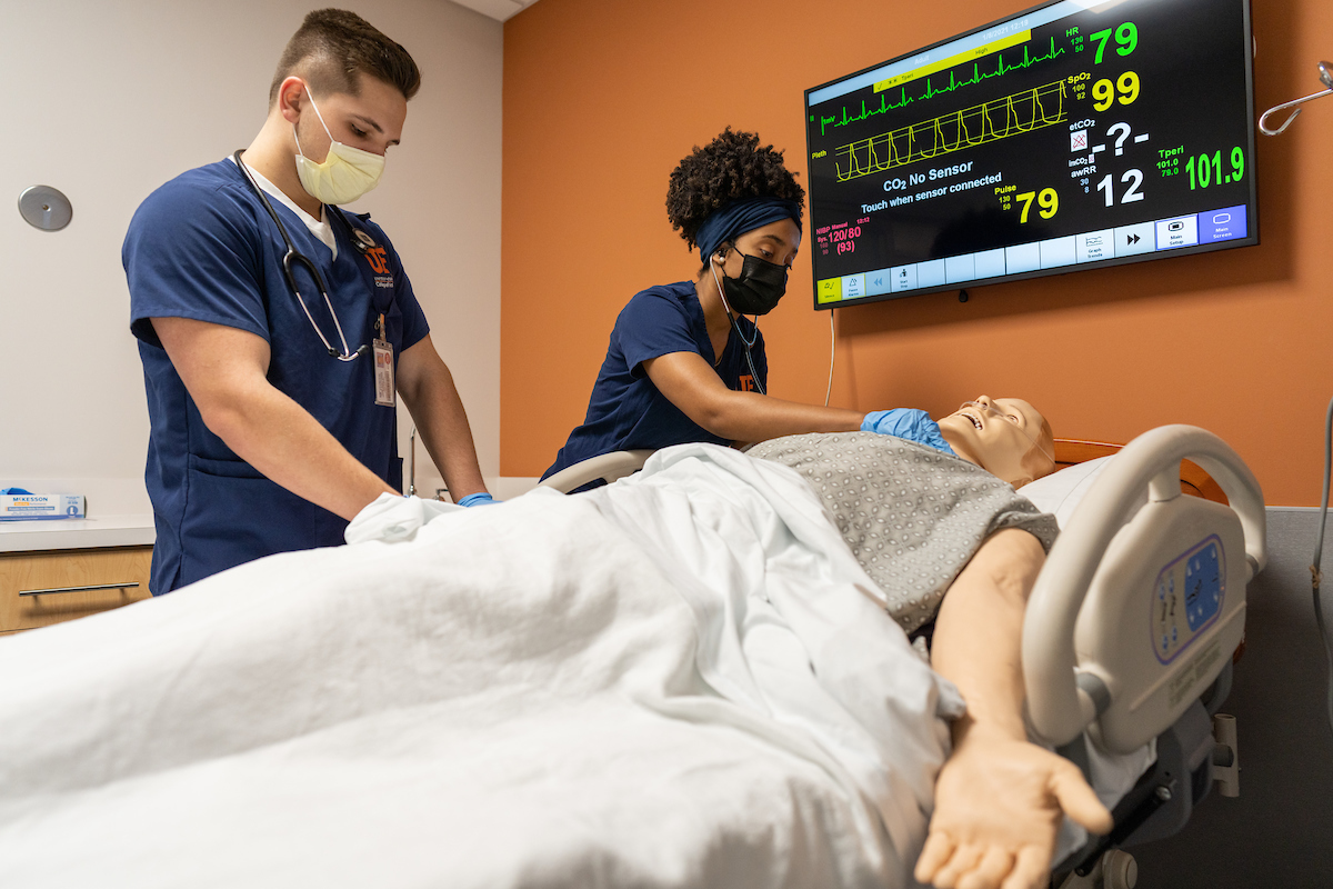 UF Nursing opens leading-edge simulation and learning lab